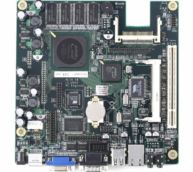 Alix motherboard