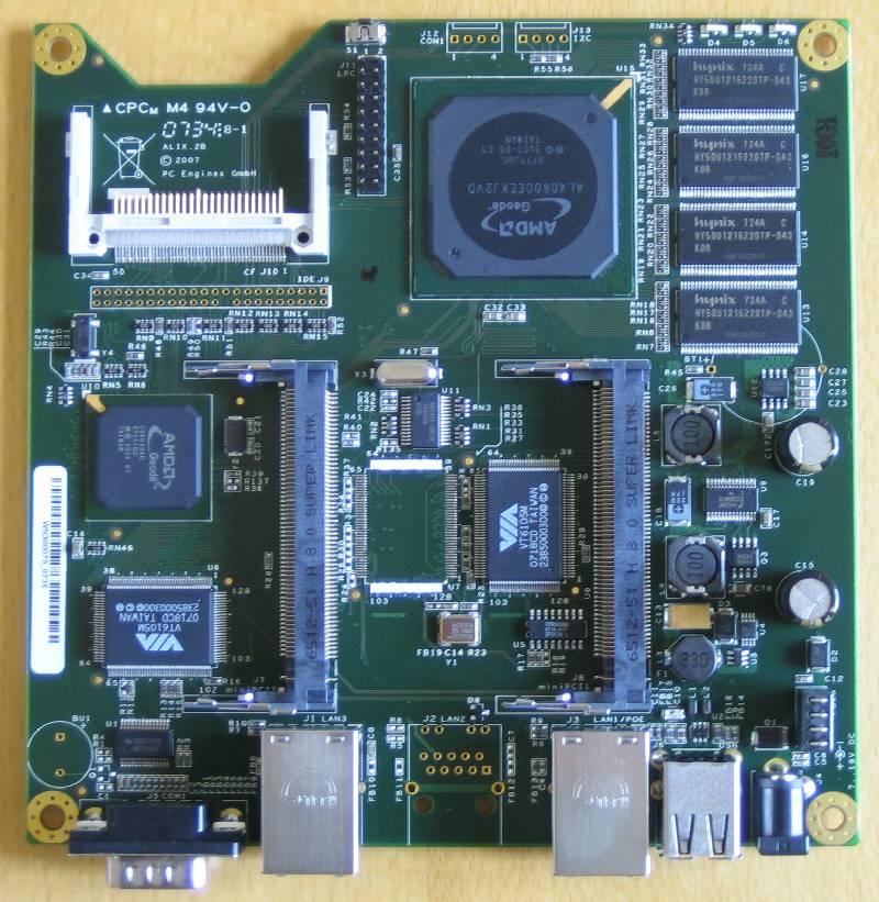 ALIX 2x2 board